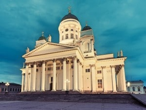 Helsinki shore excursions: Cathedral