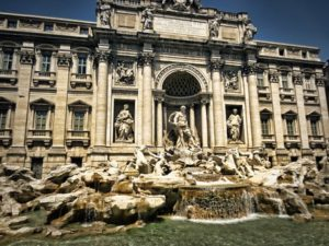 The Trevi Fountain is a highlight for Rome cruise excursions