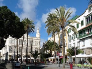 Gran Canaria-Shore Excursions: The capital Las Palmas offers numerous beautiful corners.