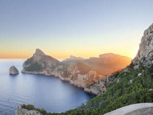 Mallorca-Shore Excursions: Wonderful Morning Atmosphere over Cap Formentor