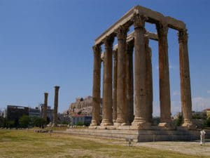 Athens-Land Trips: The Temple of Olympic Zeus