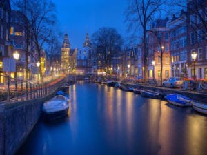 Western Europe-Shore Trips: Picturesque Canal Trips in Amsterdam