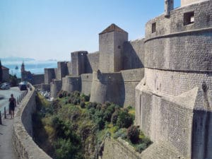 Dubrovnik Shore Excursion: The city walls of Dubrovnik have a length of almost 2000 meters.