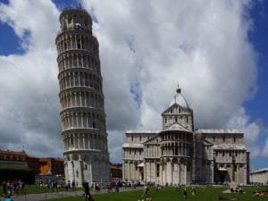 Livorno-Shore Excursion: Slate is impossible - the famous landmark of Pisa