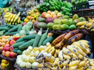 Madeira-Shore Excursion: The markets in Funchal are culinary and visual treats.