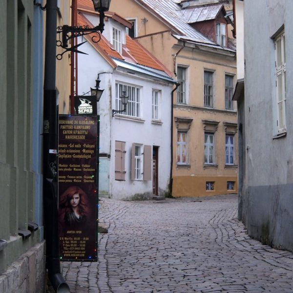 Shore Excursion in Tallinn: Lane in the Old Town of Tallinn
