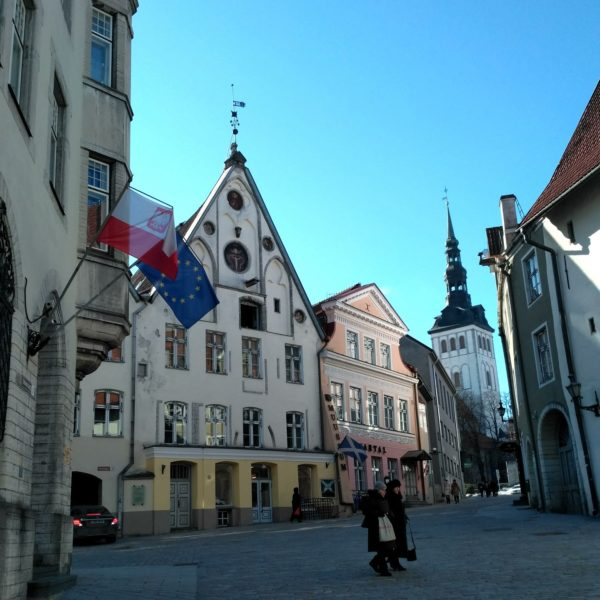 Houses in the Old Town of Tallinn