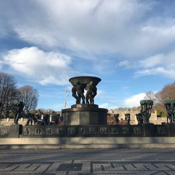 Statues in the Vigeland Park