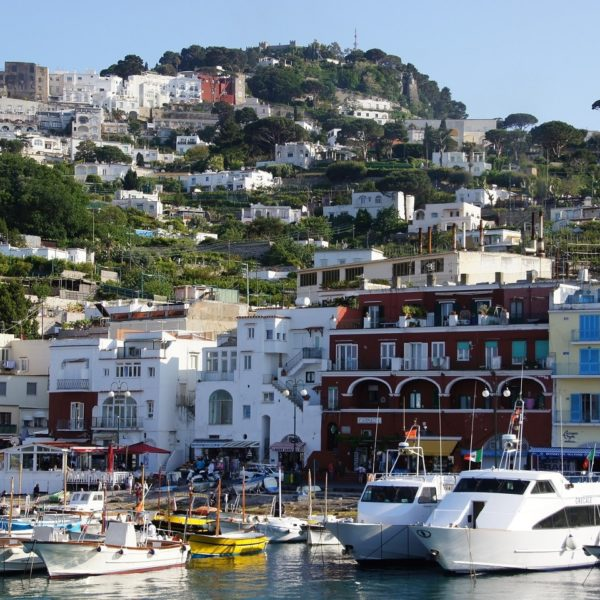 Shore excursion in Naples: The Marina of Capri