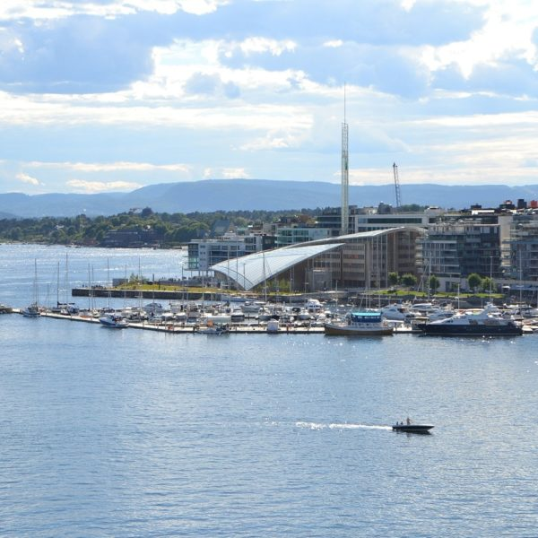 Shore excursion in Oslo: The port of Oslo offers a beautiful panorama