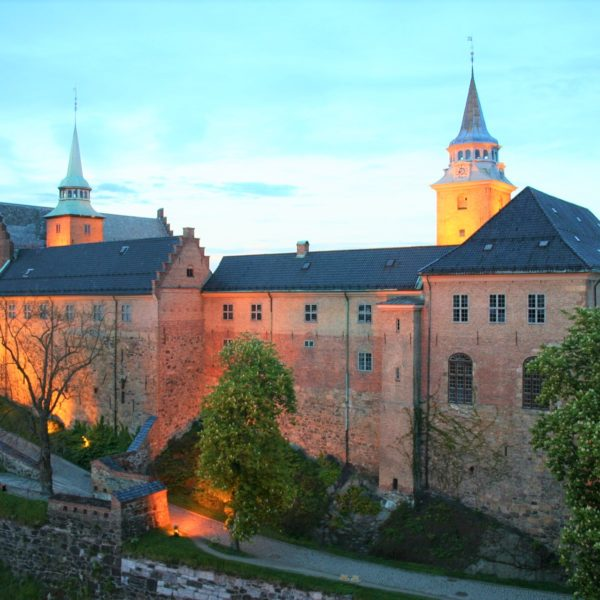 The historical Akershus Fortress
