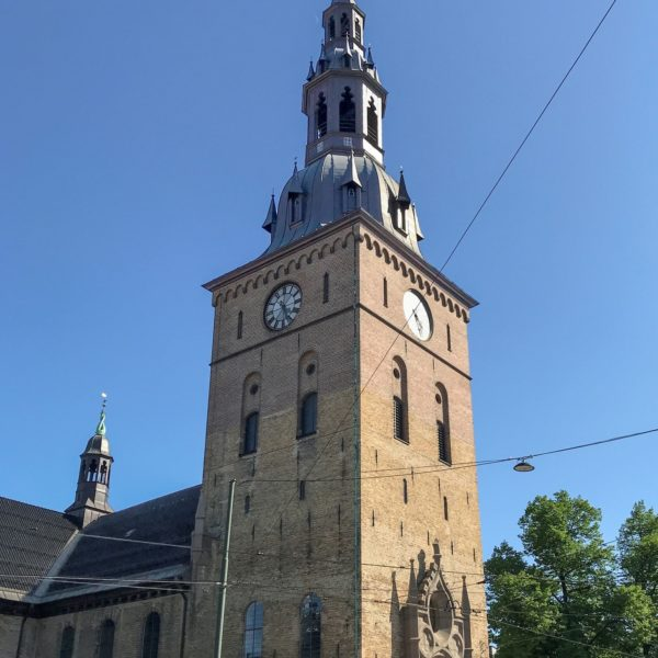 View of the Oslo Cathedral