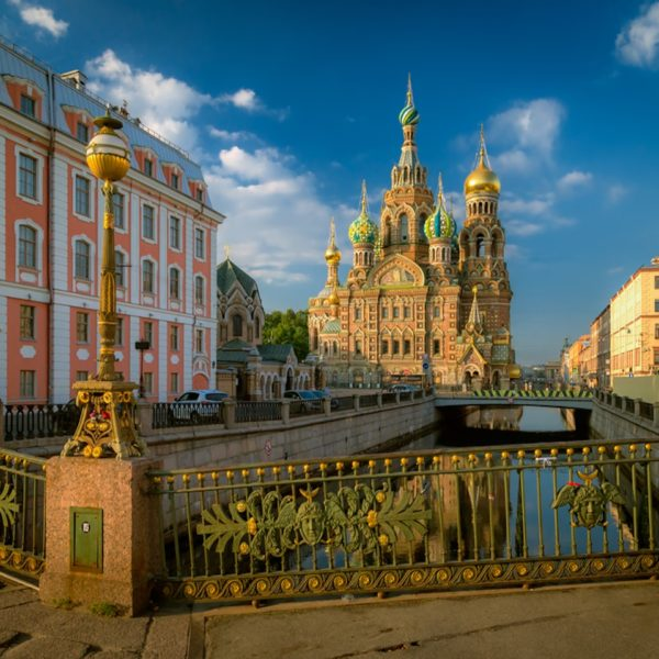 Shore Excursion in St. Petersburg: Dreamlike Evening Light in St. Petersburg