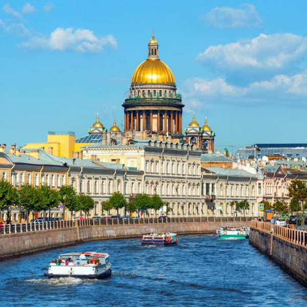 "Shore Excursion in St. Petersburg: The ""Pearl"" of the Baltic Sea"
