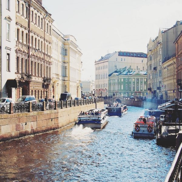 Shore excursion in St. Petersburg: Water is omnipresent in St. Petersburg