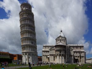 Shore excursion in La Spezia: Pisa and its landmark can be reached within an hour from La Spezia.
