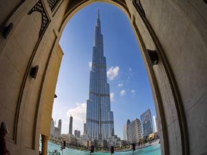 Dubai Shore Excursion: The Burj Khalifa in Dubai - one of the most impressive buildings in the world