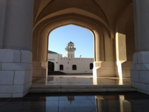 Shore Excursions in Muscat: The Sultan Qaboos Grand Mosque