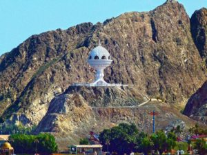 Shore Excursions in Muscat: The Riyam Monument in Mutrah