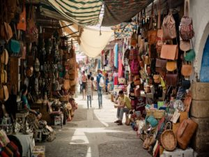 Orient shore excursion: Discover one of the numerous bazaars that the Orient has to offer!