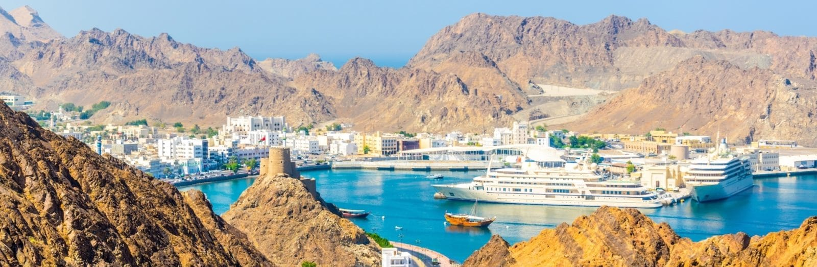 Shore Excursion in Muscat