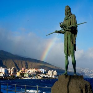 Shore Excursion on Tenerife: Stone Contemporary Witnesses of Long Past Days on Tenerife