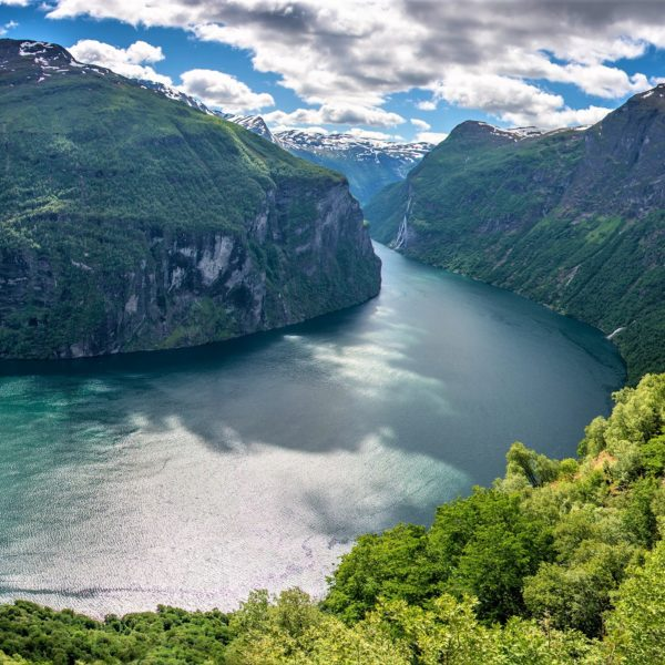 View to Geirangerfjord