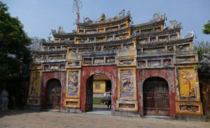 The citadel of Hue