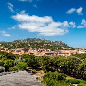 View of idyllic Porto Cervo