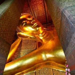 One of the largest reclining Buddha