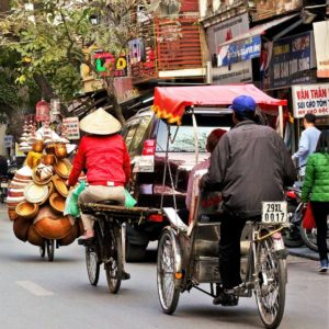 Enjoy small streets with Cyclo