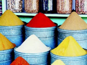 Discover exotic spices